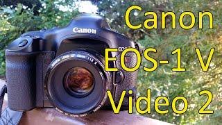 Canon серії EOS-1 у відео керівництві 2 з 3