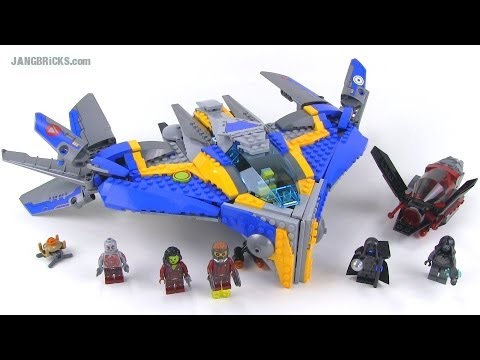 LEGO Guardians of the Galaxy Milano Spaceship Rescue Review! 76021