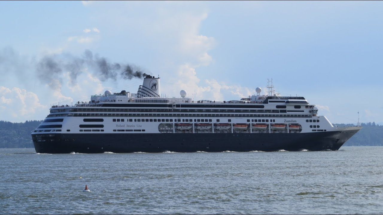 Zaandam Cruise Ship In Vancouver BC July YouTube - Zaandam ship