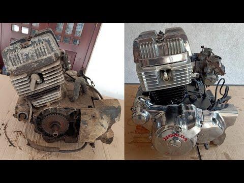 Honda CB125T(Deluxe) Engine full Restoration | Honda CB125TD Super Dream