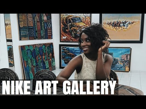 VISIT TO NIKE'S ART GALLERY IN LAGOS | SASSY FUNKE