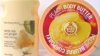 Bath and Body Works VS The Body Shop : Review!