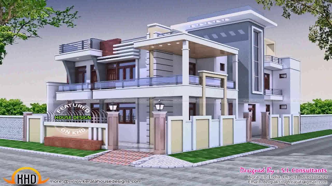 House Portico Designs Photos India 1 Floor - YouTube