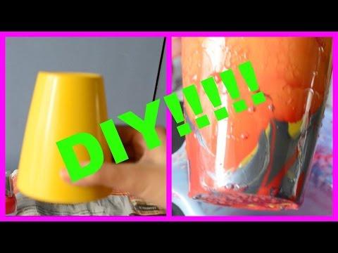 DIY-  Modern art in just 1 minute!!