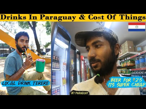 Trying Local Drink of Paraguay and Shopping In Super Market. Its much better Than 'Mate'