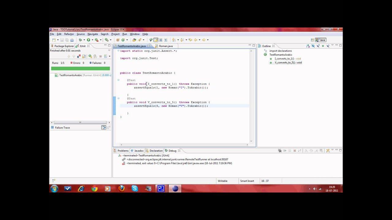 Test driven development in java episode 1 youtube test driven development in java episode 1 baditri Images