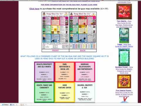 How to Apply the Bagua Map to a Floorplan - YouTube