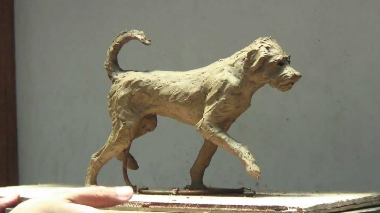 Scout The Dog Clay Sculpture Step By Step K Barton
