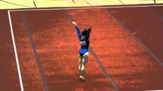 黃曉盈 Wong Hiu Ying Angel - FX - 2014 HK Gymnastics Open