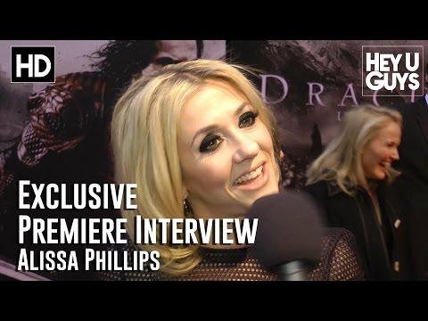 Producer Alissa Phillips Interview - Dracula Untold Premiere (HD)