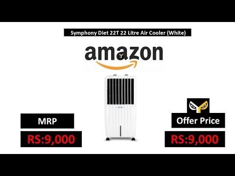 Symphony Diet 22T 22 Litre Air Cooler (White)
