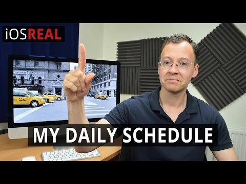 My Daily Routine | Freelance Web and iOS Developer
