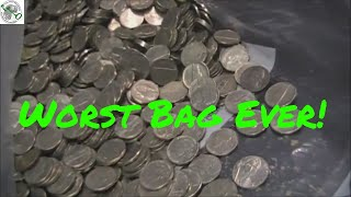 $200 Coin Star Bag of Nickels | Worst Bag Ever!!!