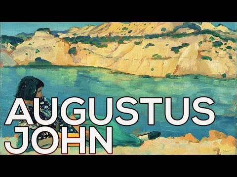 Augustus John: A collection of 217 paintings (HD)