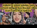 - Live IG, JANNA live sambil make UP, Aco sibuk koment