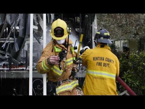 Ventura County Fire Department Vallecito Incident