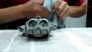 Manutenção da pinça de freio