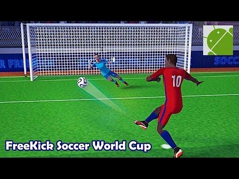 FreeKick Soccer World Champion  Android Gameplay HD