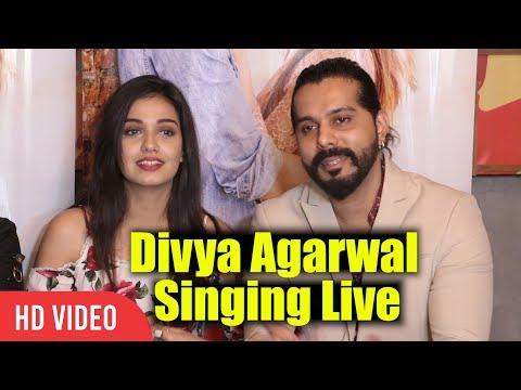 Divya Agarwal And Tushar Jules Singing Live | Hamein Tum Se Pyar Kitna