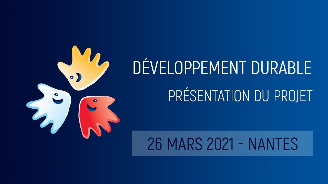 Présentation du projet sur le développement durable de la FFSA