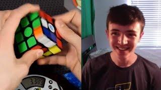 Rubik's Cube Solved in 4.00 Seconds! (PB) - Phillip Lewicki