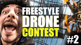 WORLD CHALLENGE of DRONES #2 - FREESTYLE CATEGORY - SUB EN ( Frank Citro )