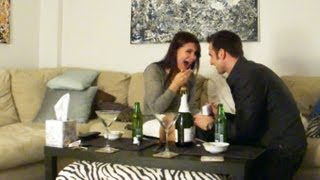 Best Surprise Proposal Ever!  - New Year's Eve 1/1/11- Hilarious at End