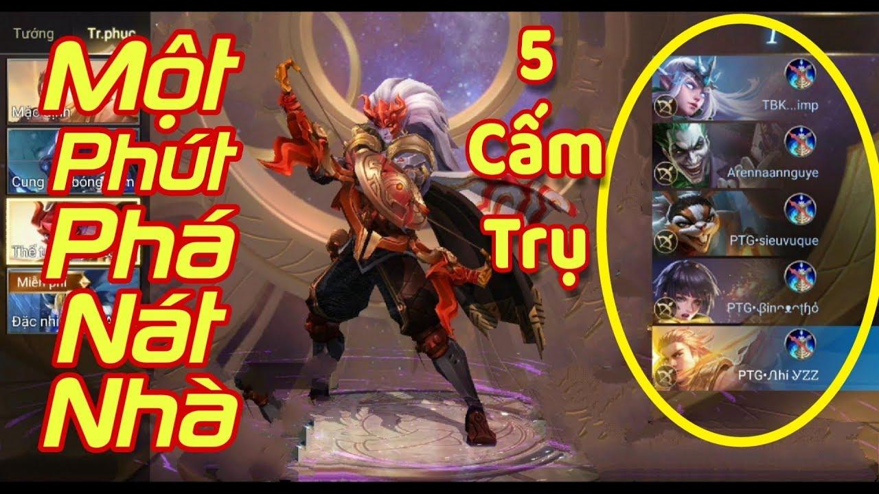 [Gcaothu] 5 Xạ thủ mang 5 cấm trụ chỉ 1 phút phá hủy nhà lính siêu cấp – Quá nhanh quá nguy hiểm