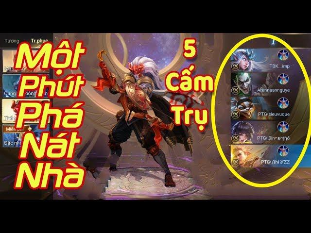 [Gcaothu] 5 Xạ thủ mang 5 cấm trụ chỉ 1 phút phá hủy nhà lính siêu cấp - Quá nhanh quá nguy hiểm