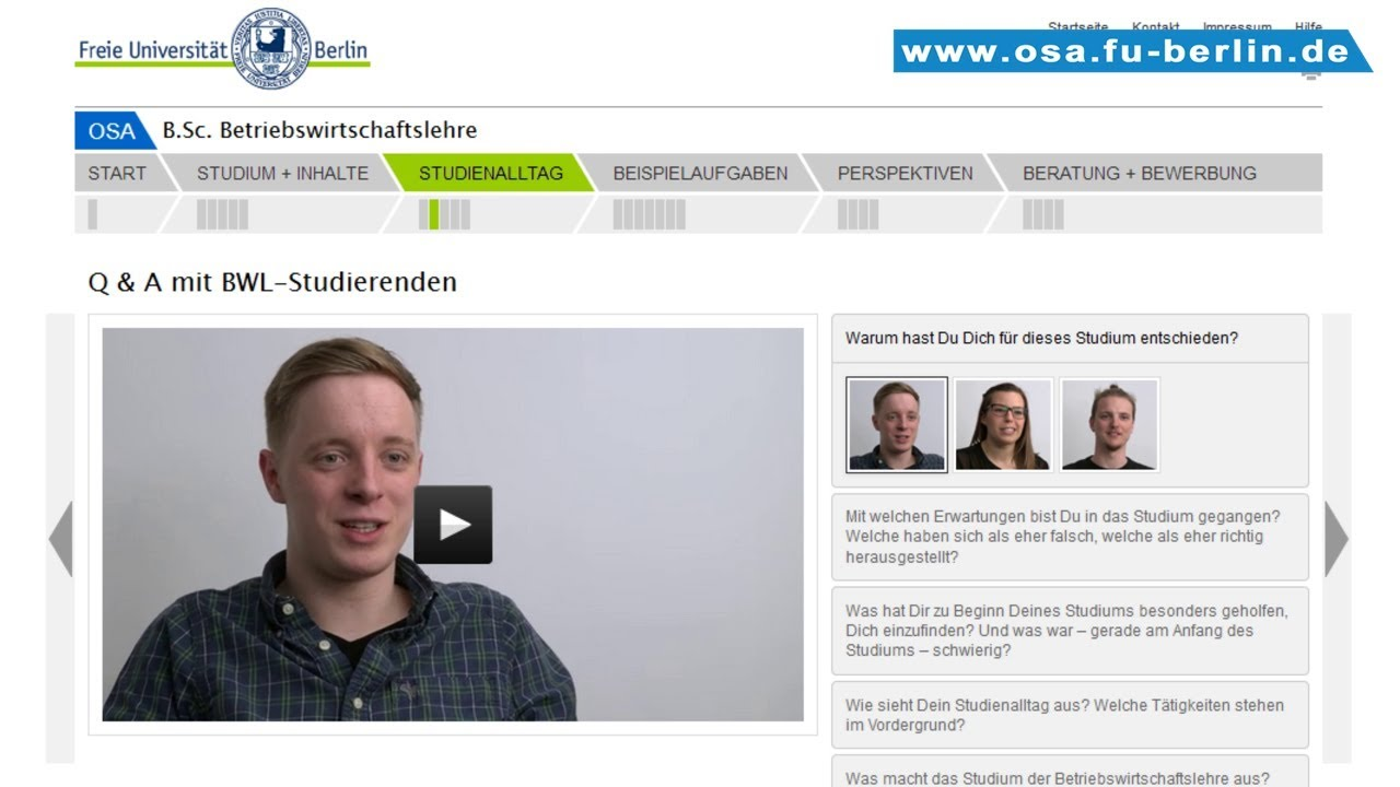 Bwl Studieren In Berlin