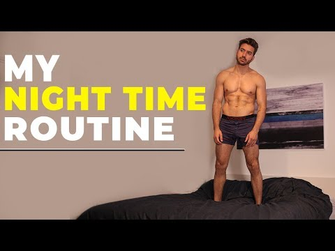MY NIGHT TIME ROUTINE 2018 | Men's Night Routine | Alex Costa