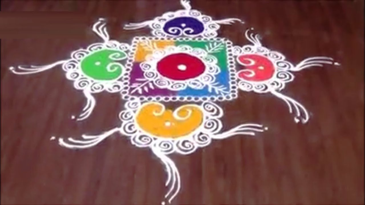 Sanskar Bharti Rangoli For Beginners