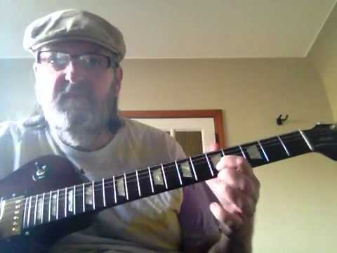 Call and response blues lick lesson in A for beginners