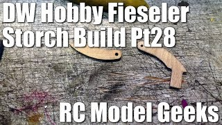 DW Hobby Fieseler Fi 156 Storch Build Pt28 RC Model Geeks