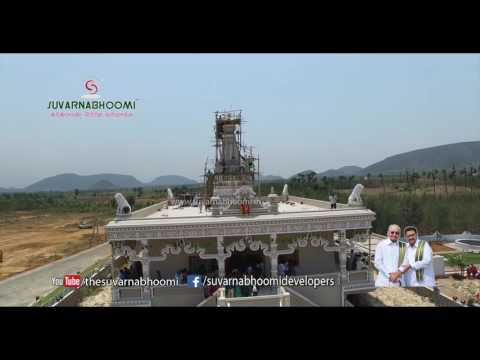 Suvarna Shirdi Sai Temple Launching Sky View at Suvarnakuteer Vizag Phase 3