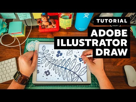 Tutorial   How to create in Adobe Illustrator Draw