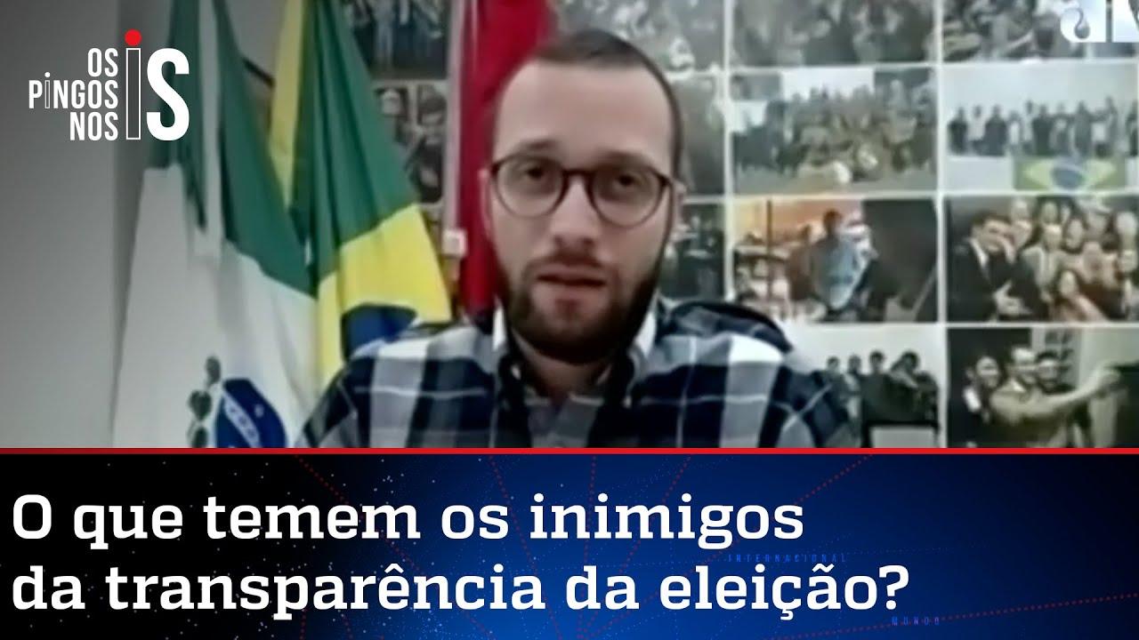 Download Filipe Barros sobre o voto auditável: Não é normal uma reação tão forte a algo tão simples