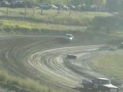 Northport Raceway Truck Main Event Part 1 Aug 30th 2014