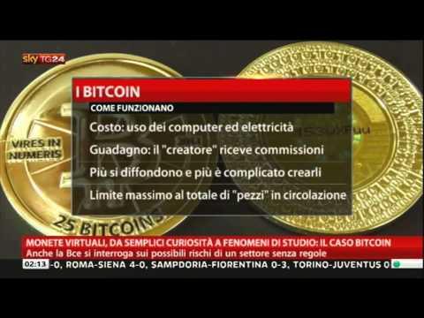Sky TG24 Economia  Bitcoin