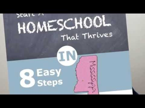 How to Homeschool in Mississippi and Mississippi Homeschool Laws