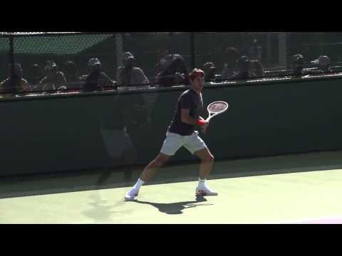 Kỹ thuật cú đánh thuận tay, trái tay, serve, voley của Roger Federer