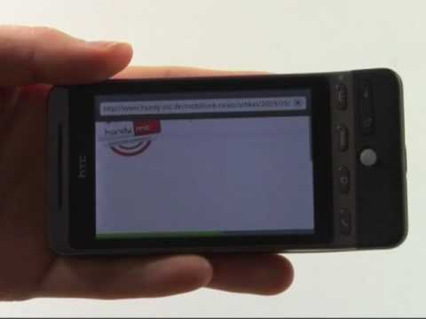 HTC Hero Test Internet