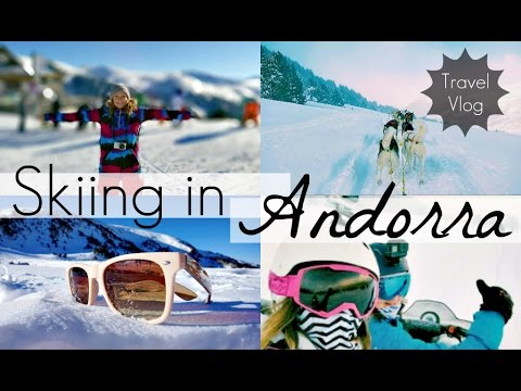 Skiing and Exploring Soldeu, Andorra | Travel Vlog | Annie B