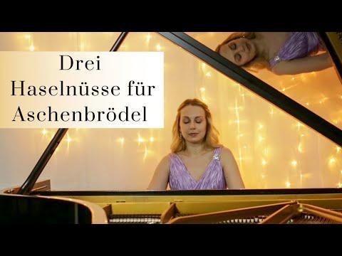 Drei Haselnüsse für Aschenbrödel, Titelmelodie für Klavier - Piano