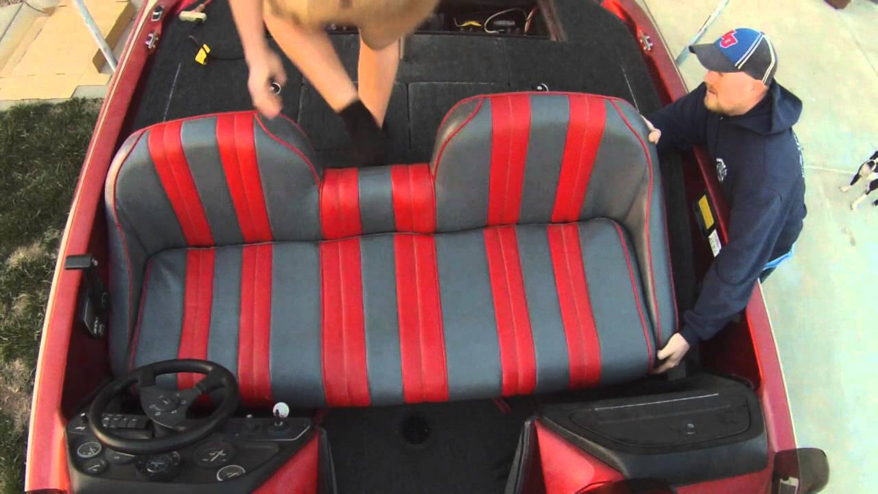 hight resolution of ranger bass boat seat removal and install