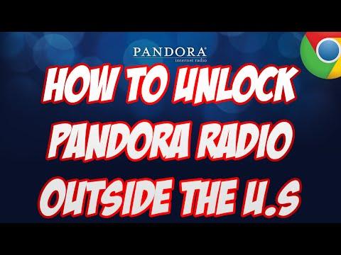 *EASY* How To Unlock PANDORA RADIO Outside the US!