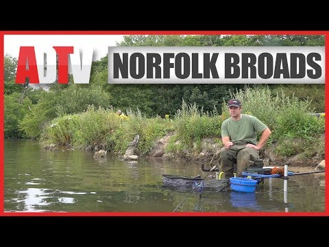 How To Fish The Norfolk Broads - Fishing From The Bank