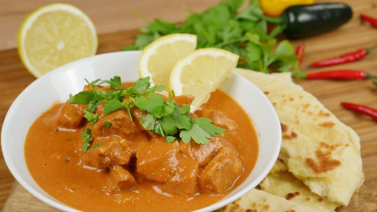 Indisches Butter Chicken aus dem Ofen - YouTube