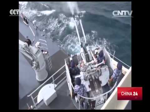 Chinese Navy holds drill in South China Sea
