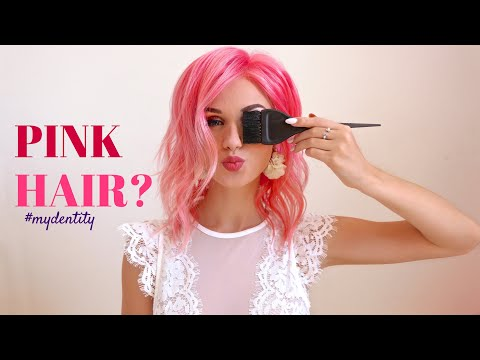 How To: BubbleGum Pink Hair - YouTube